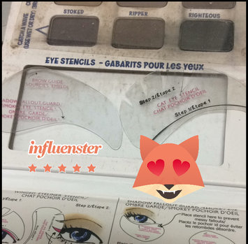 Thebalm the Balm Balmsai Eyeshadow & Brow Palette With Shaping Stencils uploaded by Zuleica N.