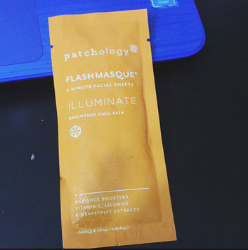 Photo of Patchology Flashmasque Touch of Lace Illuminate 5 Minute Facial Sheets uploaded by Hernandez B.