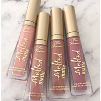 Too Faced Melted Matte Liquified Long Wear Matte Lipstick uploaded by Kiran S.