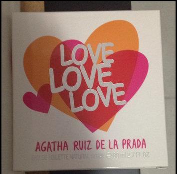 Photo of Agatha Ruiz De La Prada Love Women's 2.7-ounce Eau de Toilette Spray uploaded by Sofía S.