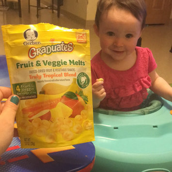 Photo of Gerber® Graduates® Fruit & Veggie Melts™ Snack Truly Tropical Blend uploaded by Kyla K.