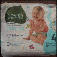 Seventh Generation Free & Clear Size 4 Baby Diapers uploaded by Sandra D.