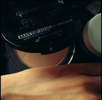 Photo of Catrice Prime & Fine Waterproof Mattifying Powder uploaded by Samah T.