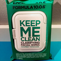 Formula 10.0.6 Keep Me Clean Clarifying Facial Wipes uploaded by Genevieve W.