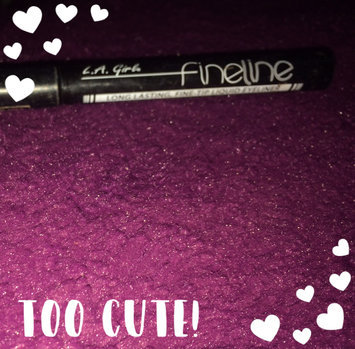 Photo of La Girl L.A. Girl Fineline Long Lasting Fine Tip Liquid Eye Liner uploaded by Abby D.