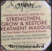 SheaMoisture Strengthen, Grow & Restore Treatment Masque, Jamaican Black Castor Oil, 12 oz uploaded by Lakiya N.