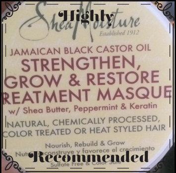 Photo of SheaMoisture Jamaican Black Castor Oil Strengthen, Grow & Restore Treatment Masque w/ Shea Butter, Peppermint & Keratin uploaded by Lakiya N.