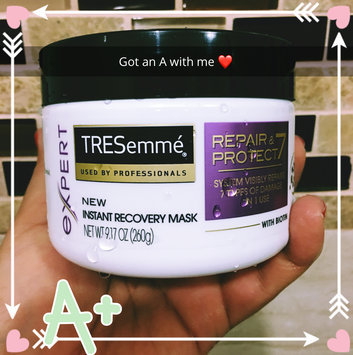 Photo of Tresemme Expert with Biotin Repair & Protect Instant Recovery Mask 9.17 oz uploaded by Sucreily R.