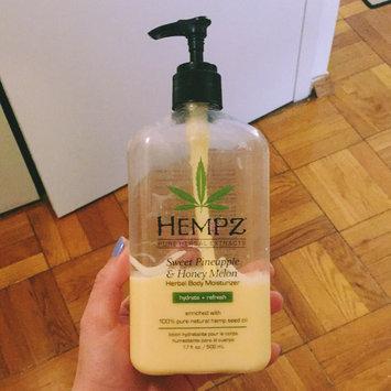 Hempz Sweet Pineapple & Honey Melon Moisturizer uploaded by Jessie G.