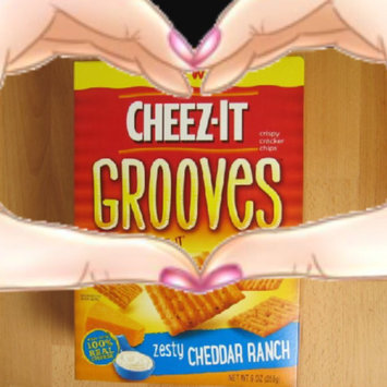 Cheez-It Grooves Zesty Cheddar Ranch Crackers 9 oz uploaded by Tonya M.