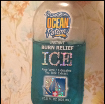 Ocean Potion Burn Relief Ice Gel uploaded by Abby D.