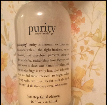 philosophy purity made simple one-step facial cleanser uploaded by Abby D.