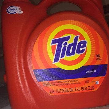 Photo of Tide Original Scent HE Turbo Clean Liquid Laundry Detergent uploaded by Jessica K.