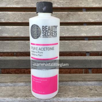 Photo of Beauty Secrets Nourishing Acetone Nail Polish Remover 32 oz. uploaded by Marie T.
