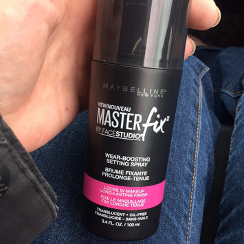 Maybelline Facestudio® Master Fix Wear-Boosting Setting Spray uploaded by Tina P.