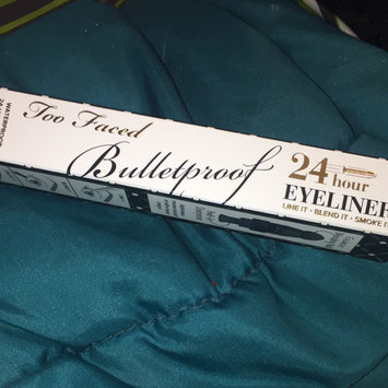 Photo of Too Faced Bulletproof 24 Hour Eyeliner uploaded by Larri J.