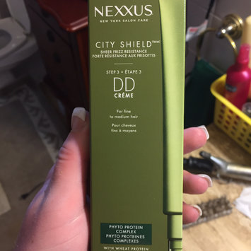 Photo of NEXXUS® CITY SHIELD HAIR CRÈME FOR ALL HAIR TYPES uploaded by catherine c.