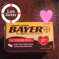 Bayer Aspirin Tablets - 325 mg - 24 ct uploaded by stefany m.
