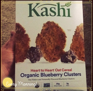 Photo of Kashi® Heart To Heart Oat Flakes And Blueberry Clusters Cereal uploaded by Crystal S.