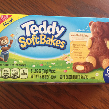 Photo of Nabisco Teddy Soft Bakes Vanilla Filling 6ct 6.36 oz uploaded by Blair C.