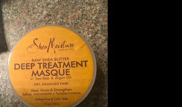 SheaMoisture Raw Shea Butter Deep Treatment Masque w/ Sea Kelp & Argan Oil uploaded by Melissa R.
