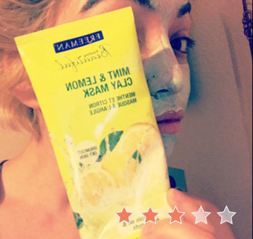 Photo of Freeman Feeling Beautiful Clay Mask Mint & Lemon uploaded by Michelle C.