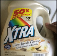 Xtra Laundry Detergent Warm Vanilla Comfort - 50 Loads uploaded by Rockea J.