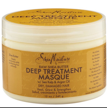 SheaMoisture Raw Shea Butter Deep Treatment Masque w/ Sea Kelp & Argan Oil uploaded by Alissia L.