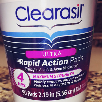 Photo of CLEARASIL® Rapid Rescue Deep Treatment Pads uploaded by Reghan M.