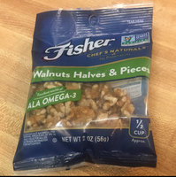 Fisher® Chef's Naturals® Walnut Halves & Pieces 2 oz. Bag uploaded by Teran F.