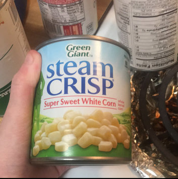 Photo of Green Giant® SteamCrisp® Super Sweet White Whole Kernel Corn Can uploaded by Teran F.