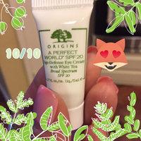 Origins A Perfect World™ SPF 20 Age-Defense Eye Cream with White Tea uploaded by Kelli C.