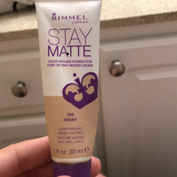 Rimmel Stay Matte Liquid Mousse Foundation uploaded by Alicia W.