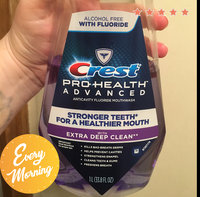 Pro Health Crest Pro-Health Advanced Mouthwash with Extra Deep Clean, Clean Mint flavor 1 L uploaded by Alisha H.