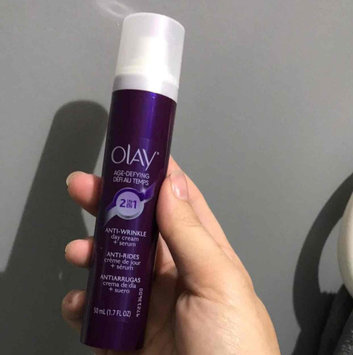 Photo of Olay Age Defying 2-in-1 Anti-Wrinkle Day Cream + Serum uploaded by Megan D.