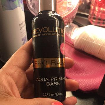 Photo of Makeup Revolution Aqua Prime Base Spray uploaded by cindy l.