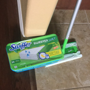 Swiffer Wet Cloth Refill with Gain - 24 Count uploaded by Barbara J.