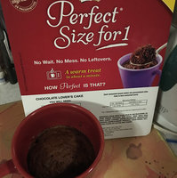 Duncan Hines Perfect Size for 1 Chocolate Lover's Cake uploaded by Tina P.
