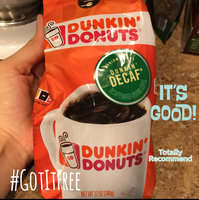 Dunkin' Donuts Dunkin' Decaf Decaffeinated Medium Roast Ground Coffee uploaded by Jackelyn A.