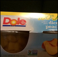 Dole Yellow Cling Diced Peaches In 100% Fruit Juice uploaded by Chrimson E.