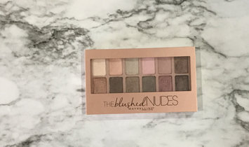 Maybelline New York Expert Wear The Blushed Nudes Shadow Palette uploaded by Nicole O.