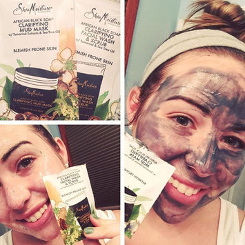 SheaMoisture African Black Soap Problem Skin Facial Wash & Scrub uploaded by Haley D.
