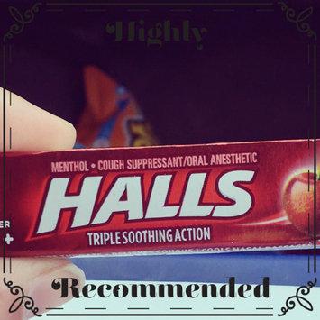 Photo of HALLS Honey Lemon Cough Menthol Drops uploaded by Brit B.
