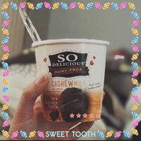 So Delicious® Cashew Milk Dark Chocolate Truffle Non-Dairy Frozen Dessert 1 pt. Tub uploaded by Kelly R.