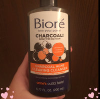 Biore® Charcoal Acne Clearing Cleanser uploaded by Amethyst T.