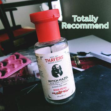 Thayers Alcohol-Free Rose Petal Witch Hazel Toner uploaded by Gianti F.