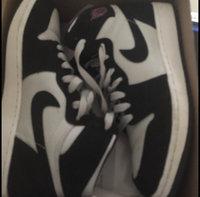 Nike Girls' Grade School Air Jordan Retro 1 High (3.5y-9.5y) Basketball Shoes, Girl's, Black/Grey uploaded by Yailin R.