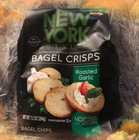 New York Style York Style Mini Bagel Chips Garlic, 5.5-Ounce Packages (Pack of 12) uploaded by Sara B.