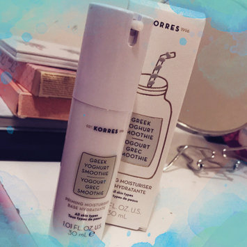 Photo of KORRES Greek Yoghurt Smoothie Priming Moisturiser 1.01 oz/ 30 mL uploaded by Katie F.