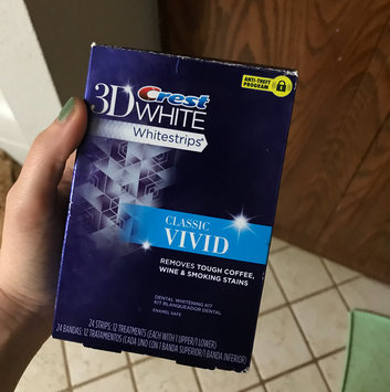 Photo of Crest 3d White Vivid Teeth Whitening Strips 12 Count uploaded by Tisha M.